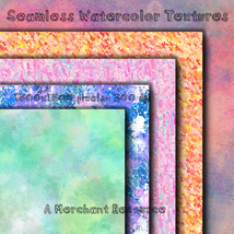Seamless Watercolor Textures image 7