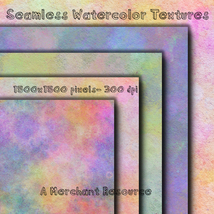 Seamless Watercolor Textures image 8
