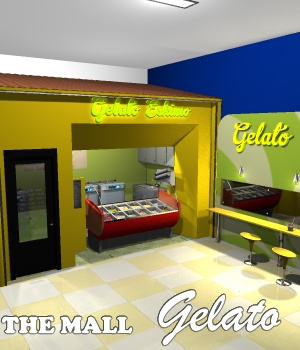 The Mall - Gelato - Extended License 3D Models Extended Licenses greenpots