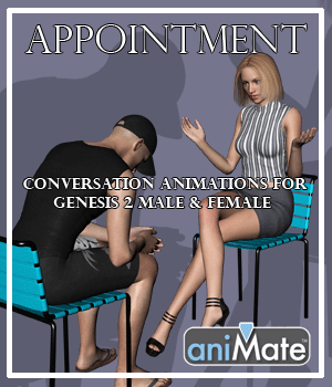Appointment for G2M & G2F 3D Figure Assets AnyMatter