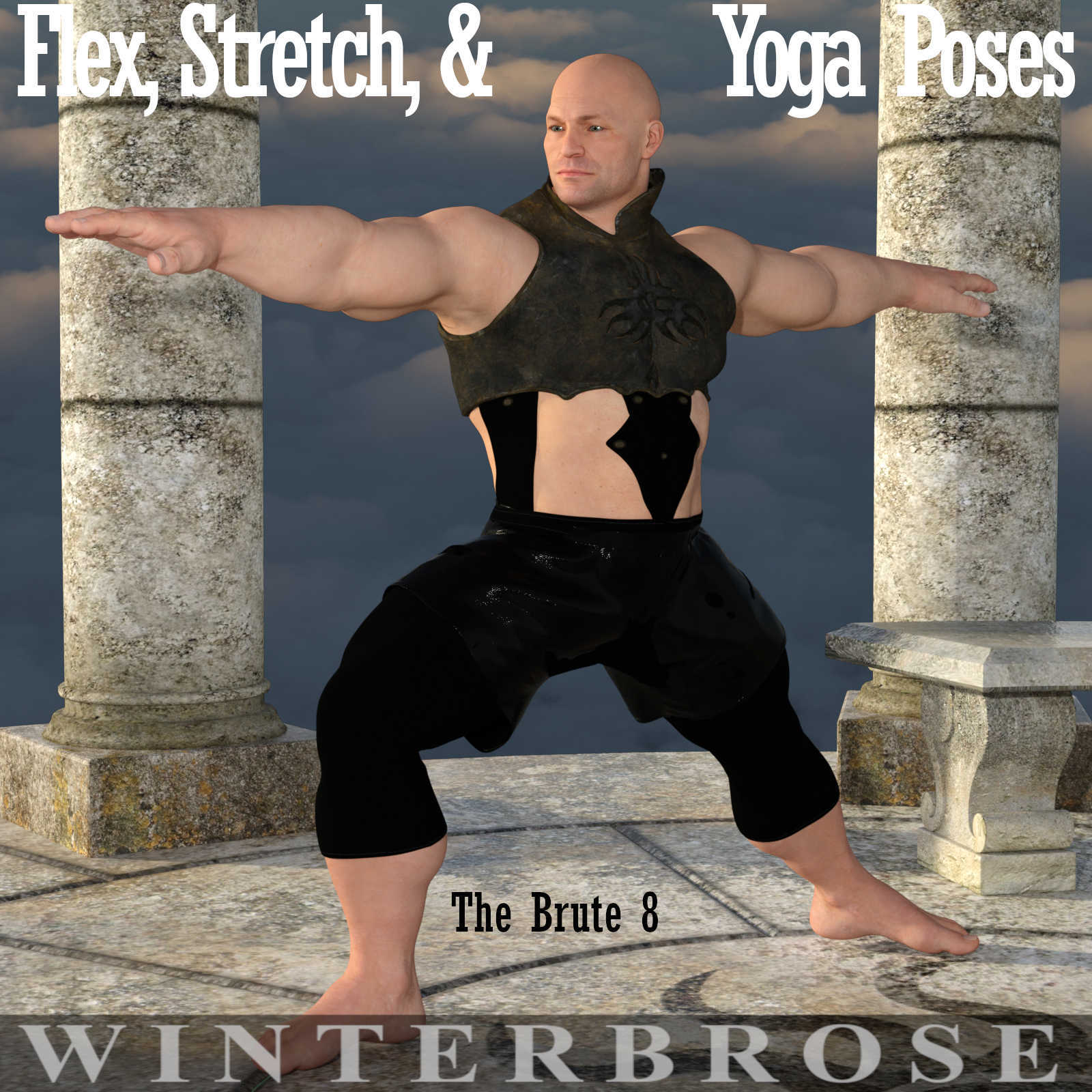FLEX, STRETCH and YOGA Poses for The Brute 8