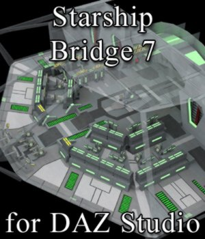 Starship Bridge 7 for DAZ Studio 3D Models VanishingPoint