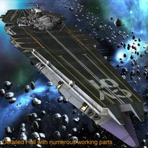 UNS Coral Sea Space Carrier for Poser image 1