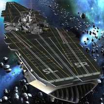 UNS Coral Sea Space Carrier for Poser image 2