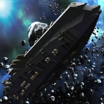 UNS Coral Sea Space Carrier for Poser image 3