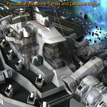 UNS Coral Sea Space Carrier for Poser image 6