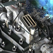 UNS Coral Sea Space Carrier for Poser image 7