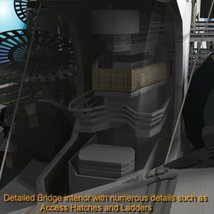 UNS Coral Sea Space Carrier for Poser image 9