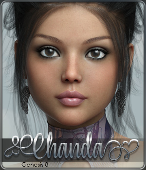 SASE Chanda for Genesis 8 3D Figure Assets Sabby
