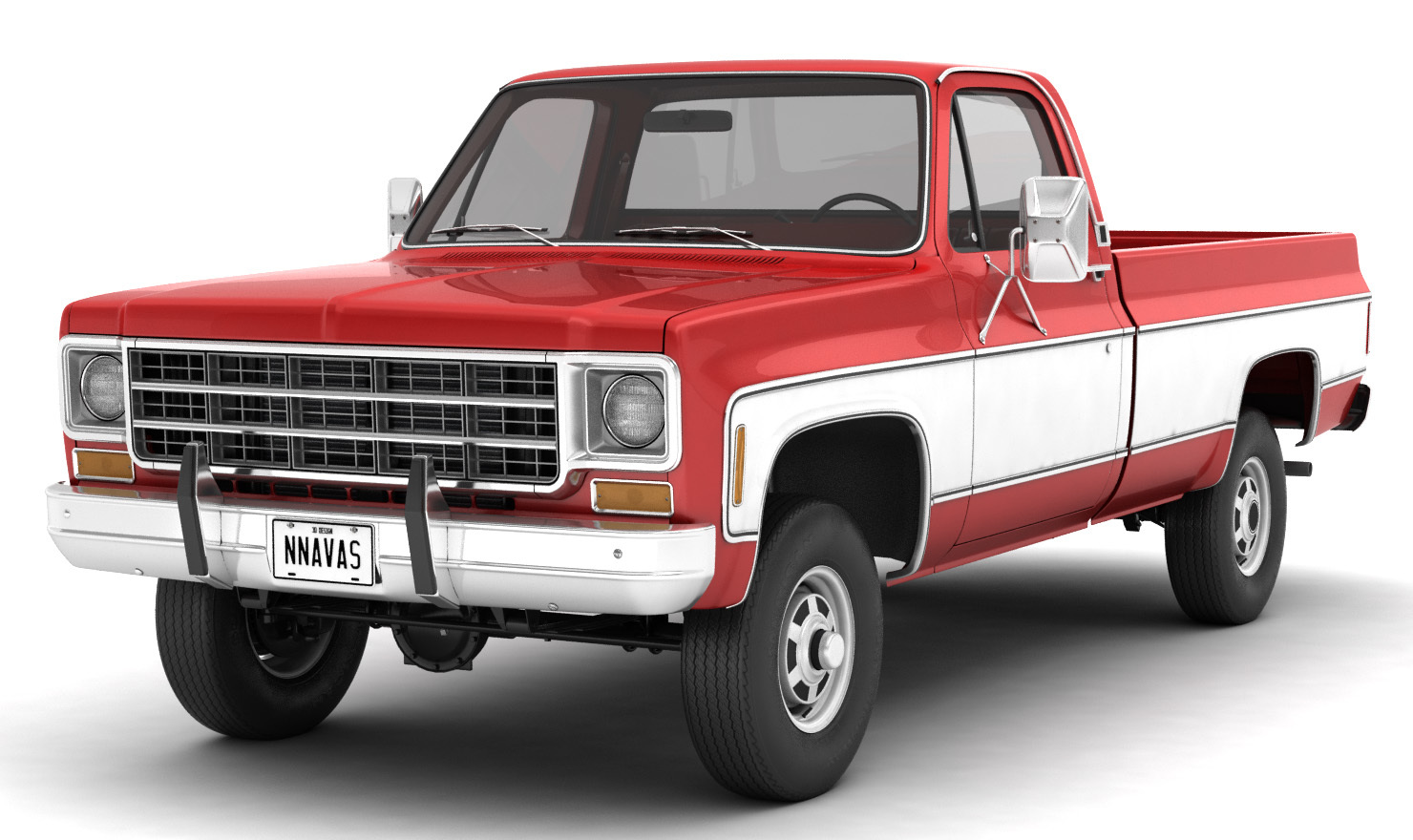 GENERIC 4WD PICKUP TRUCK 7 - Extended License by nnavas