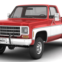 GENERIC 4WD PICKUP TRUCK 7 - Extended License image 1