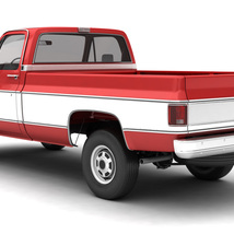 GENERIC 4WD PICKUP TRUCK 7 - Extended License image 2