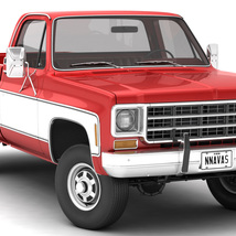GENERIC 4WD PICKUP TRUCK 7 - Extended License image 3