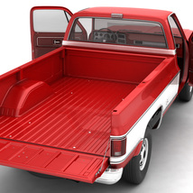 GENERIC 4WD PICKUP TRUCK 7 - Extended License image 5