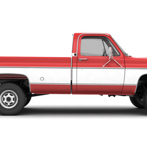 GENERIC 4WD PICKUP TRUCK 7 - Extended License image 12