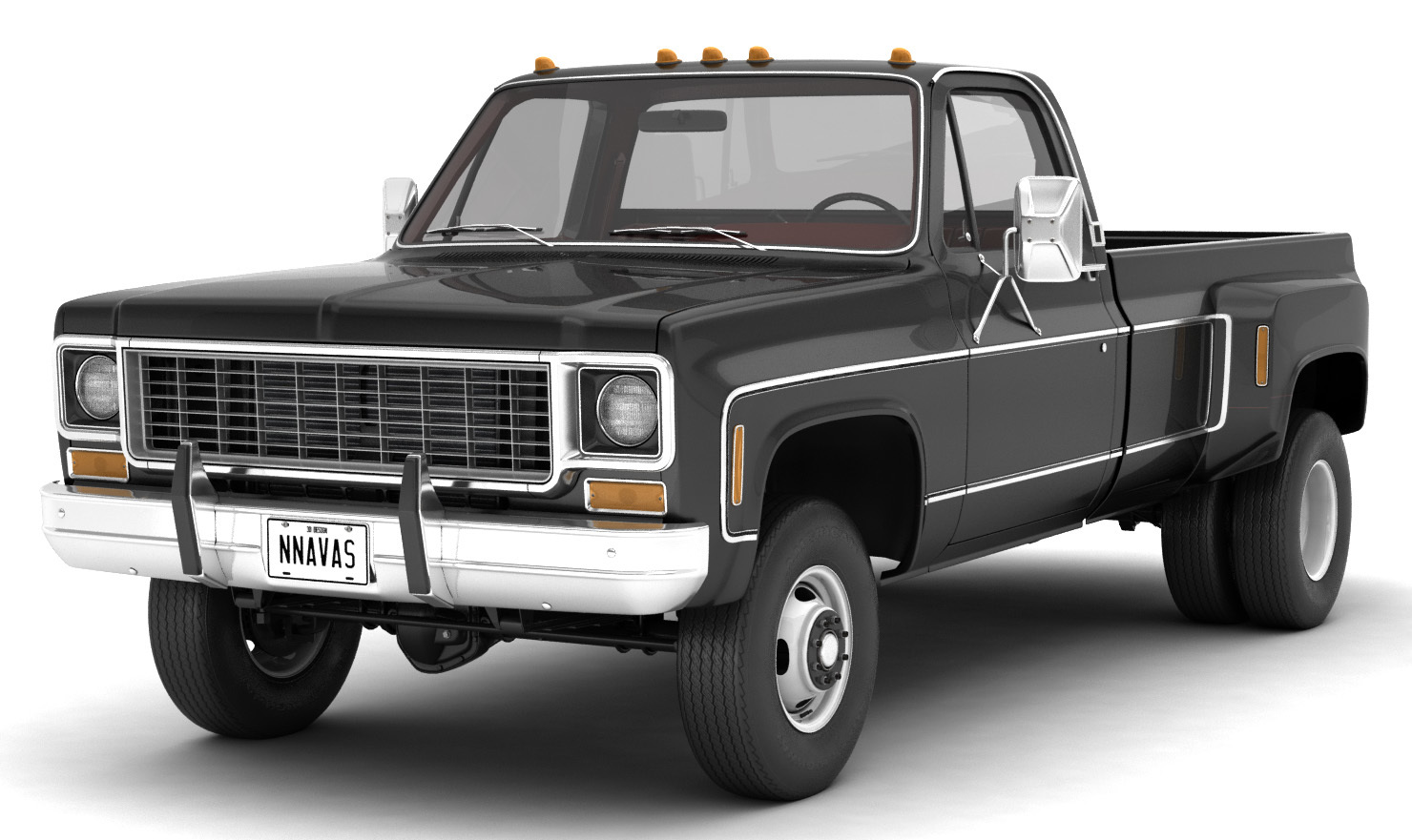 GENERIC 4WD DUALLY PICKUP TRUCK 8 Extended License