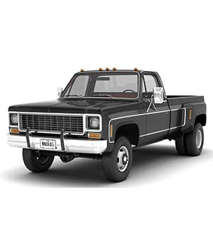 GENERIC 4WD DUALLY PICKUP TRUCK 8 Extended License 3D Game Models : OBJ : FBX 3D Models Extended Licenses nnavas