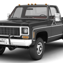 GENERIC 4WD DUALLY PICKUP TRUCK 8 Extended License image 1