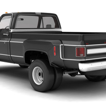 GENERIC 4WD DUALLY PICKUP TRUCK 8 Extended License image 2