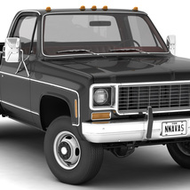 GENERIC 4WD DUALLY PICKUP TRUCK 8 Extended License image 3