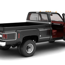 GENERIC 4WD DUALLY PICKUP TRUCK 8 Extended License image 4