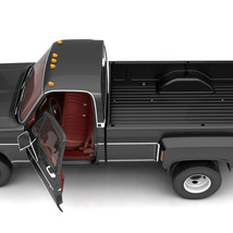 GENERIC 4WD DUALLY PICKUP TRUCK 8 Extended License image 6
