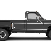 GENERIC 4WD DUALLY PICKUP TRUCK 8 Extended License image 11