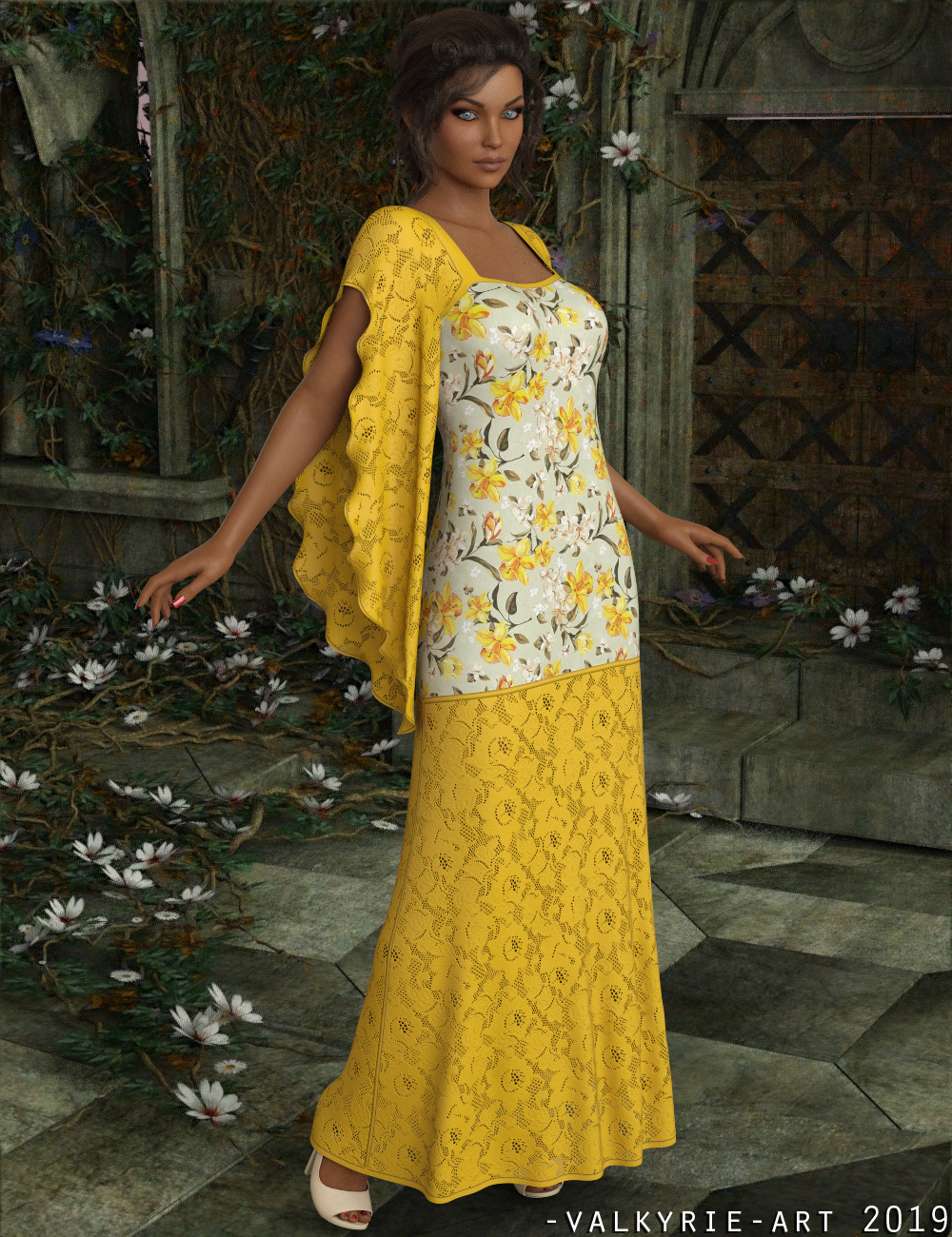 InStyle - dForce - Belinda Long Gown for G8F by -Valkyrie-