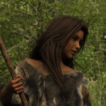 dForce Neolithic Outfits for Genesis 8 Female image 1