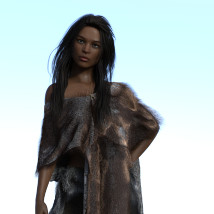dForce Neolithic Outfits for Genesis 8 Female image 4