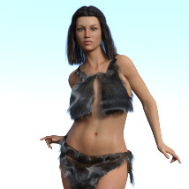 dForce Neolithic Outfits for Genesis 8 Female image 5