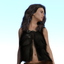 dForce Neolithic Outfits for Genesis 8 Female image 6