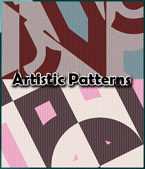 Seamless Artistic Patterns  2D Graphics Merchant Resources adarling97