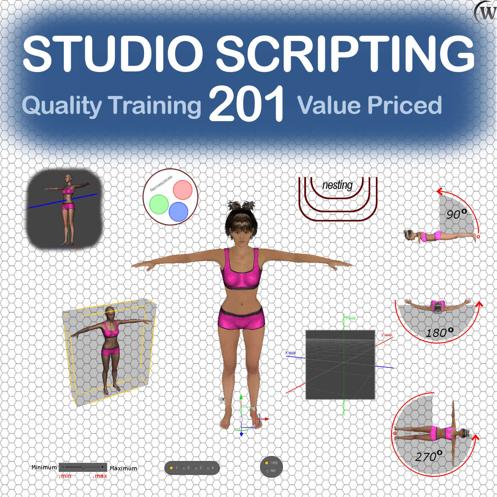 STUDIO SCRIPTING Course 201, Intermediate Controls and Manipulations