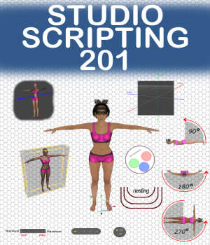 STUDIO SCRIPTING Course 201, Intermediate Controls and Manipulations Tutorials : Learn 3D Winterbrose