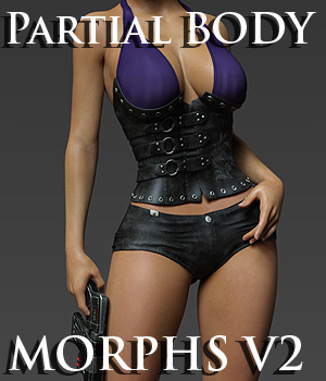 Partial Body Morphs G8F Vol 2 3D Figure Assets Merchant Resources Anagord