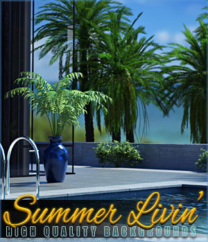 Summer Livin Backgrounds 2D Graphics Sveva