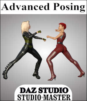 STUDIO*MASTER Advanced Posing in Daz Studio 4.7 Legacy Discounted Content Tutorials : Learn 3D Winterbrose