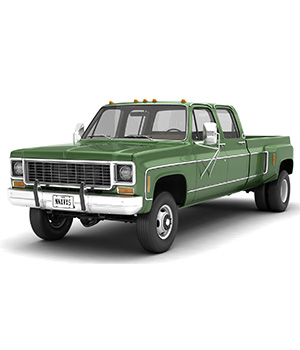 GENERIC 4WD DUALLY PICKUP TRUCK 9 - EXTENDED LICENSE 3D Game Models : OBJ : FBX 3D Models Extended Licenses nnavas