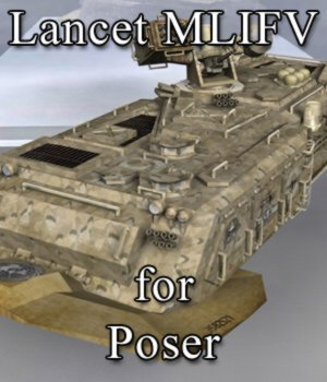 Lancet MLIFV for Poser 3D Models VanishingPoint