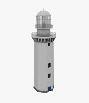 Light House Doobskiy - Extended license 3D Game Models : OBJ : FBX 3D Models Extended Licenses pukamakara