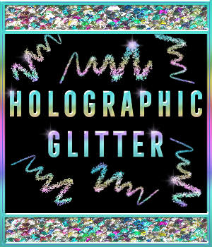 Bling Glamour Glitter HOLOGRAPHIC PS Layer Styles 2D Graphics Merchant Resources fractalartist01