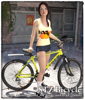 STZ Bicycle 3D Models santuziy78