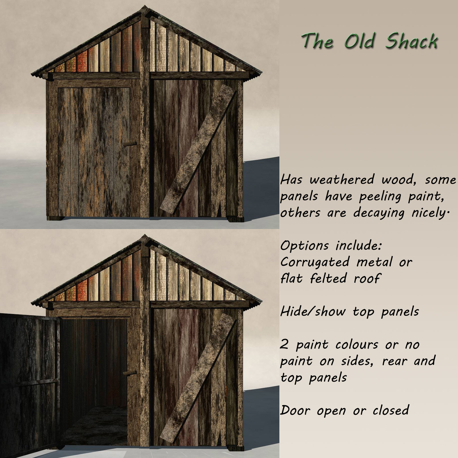 Old Shack by gillbrooks