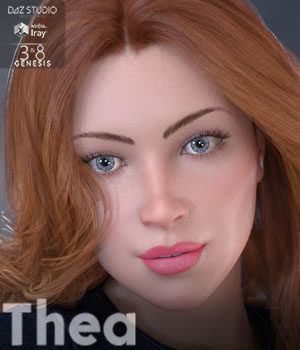 Thea for Genesis 3 and 8 Females 3D Figure Assets MavenGames