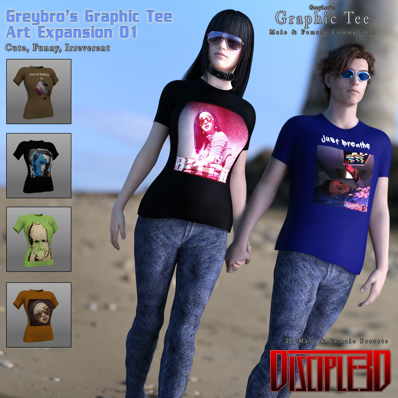 Greybro's Graphic Tee Art Expansion 01