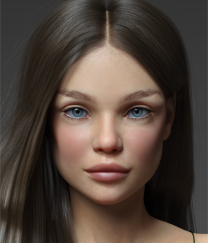 Malena for Teen Jane 8 3D Figure Assets Anagord