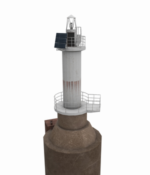 Light House Sudzhukskiy - Extended License 3D Game Models : OBJ : FBX 3D Models Extended Licenses pukamakara