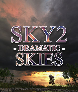 Flinks Sky 2 - Dramatic Skies 2D Graphics 3D Models Flink