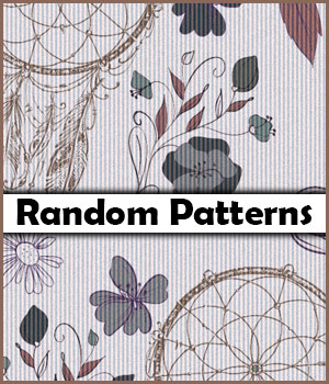 Seamless Random Patterns 2D Graphics Merchant Resources antje